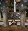 Zandsteen-decoratie-ornamenten
